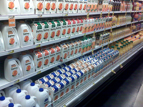 Orange Juice Aisle
