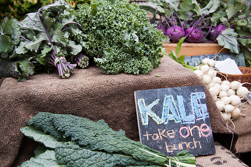 Many Kinds of Kale