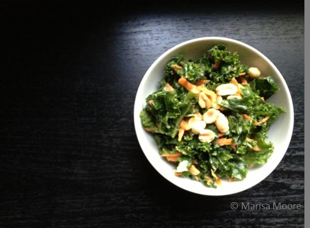 Kale Peanut Salad