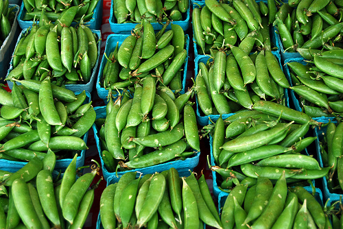Sugar Snap Peas at the Market