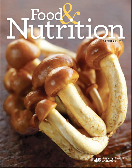 FoodNutritionCover JulyAugust2013