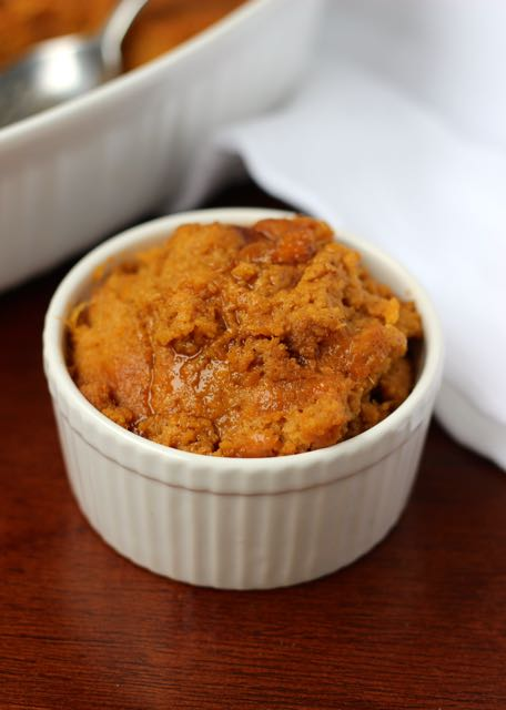 Sweet Potato Pudding on marisamoore.com