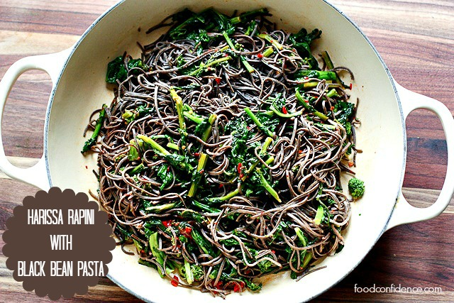 Black-Bean-Pasta-Rappini-with-Harissa2