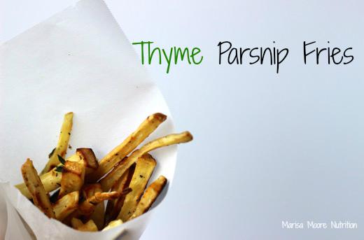 Parsnip Fries on marisamoore.com