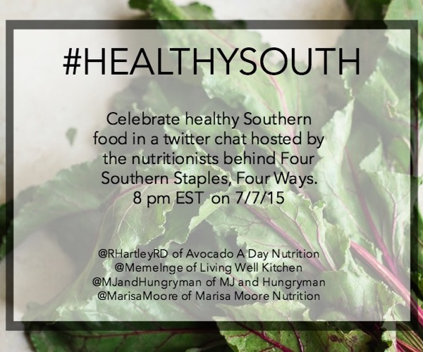 #HealthySouth Twitter Chat
