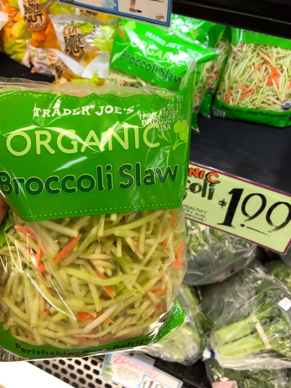 Trader Joe's Broccoli Slaw on marisamoore.com