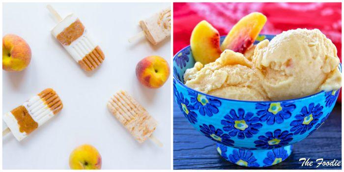 Frozen Peach Dessert Recipes