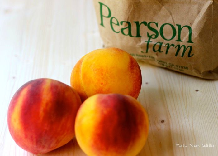 Pearson Farm Peaches on marisamoore.com