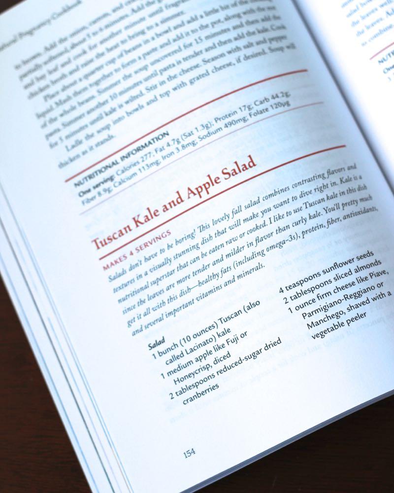 Tuscan Kale Apple Salad Recipe in Cookbook