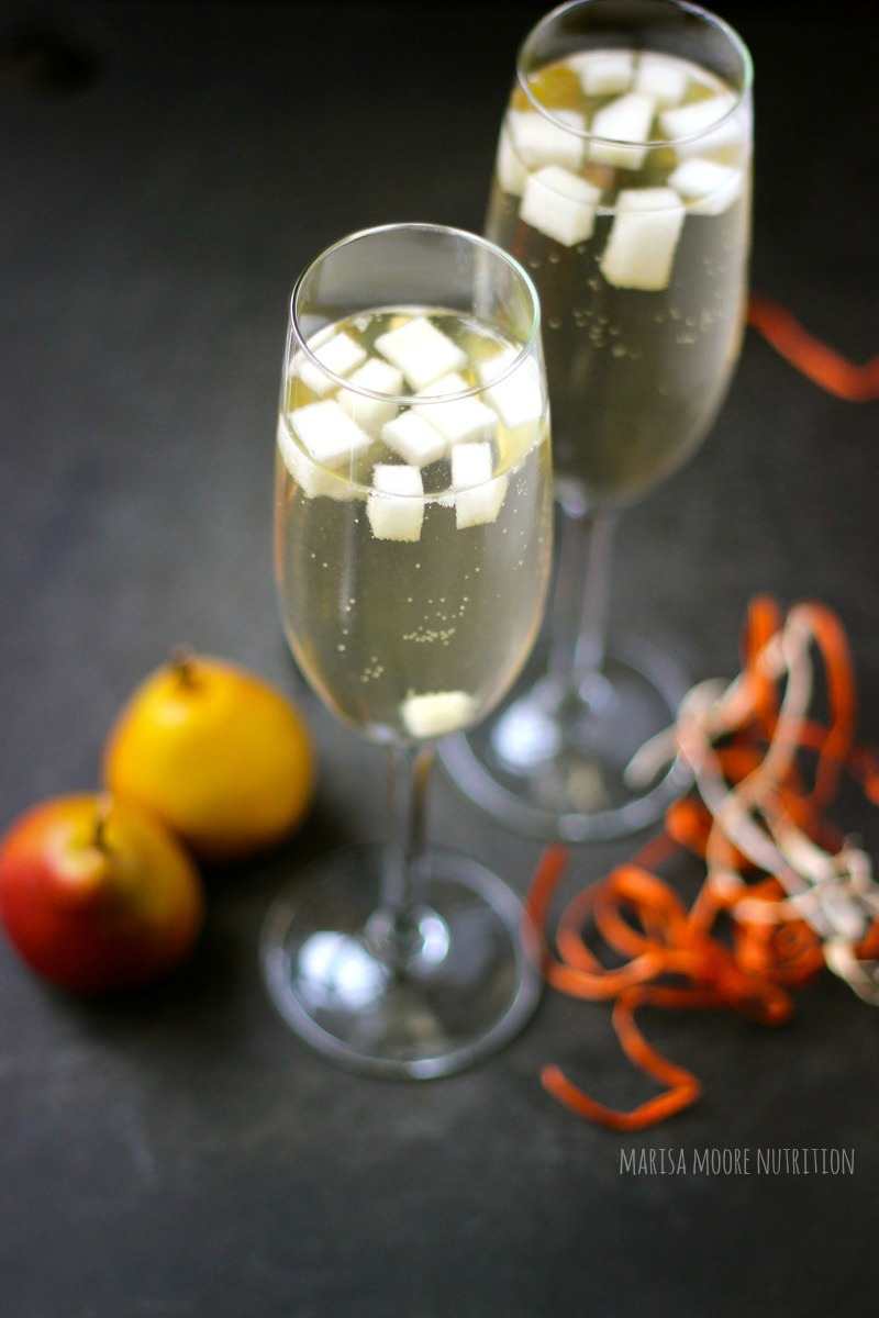 Prosecco Pear Cocktail