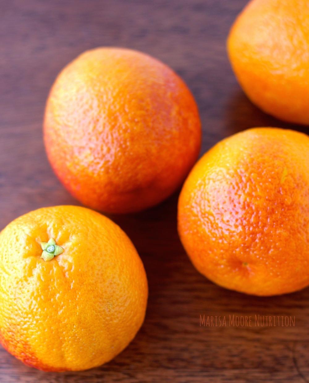 Whole Blood Oranges