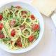 Zoodles - Tomato Basil Parmesan Zucchini Noodles