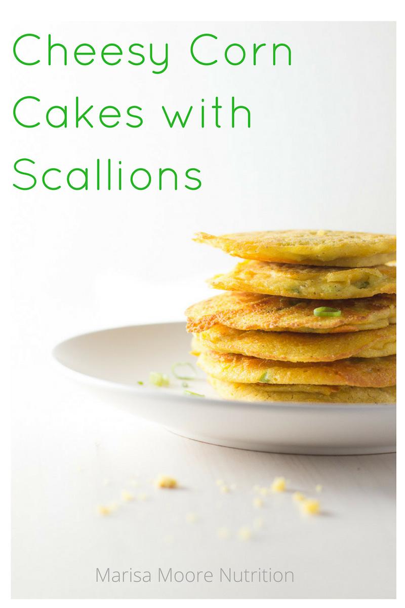 Easy Cheesy Corn Cakes