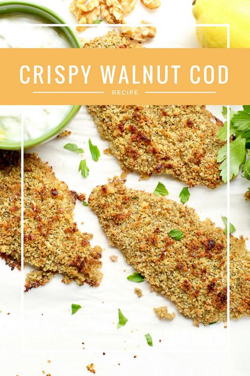 Crispy Walnut Cod
