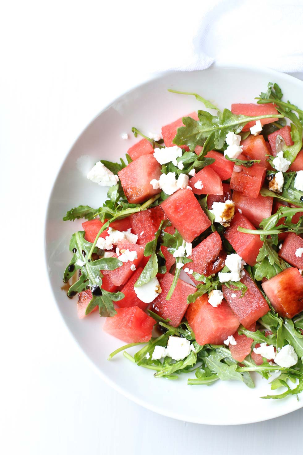 Watermelon Feta Salad - Healthy Salads