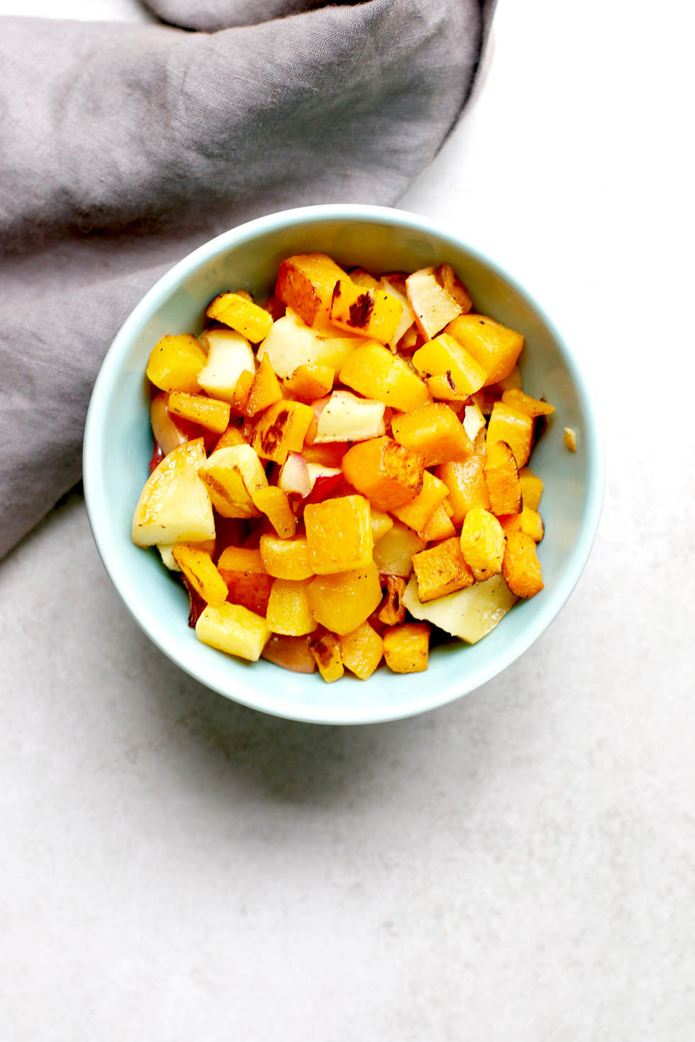 Easy Roasted Butternut Squash and Apples | Marisa Moore Nutrition