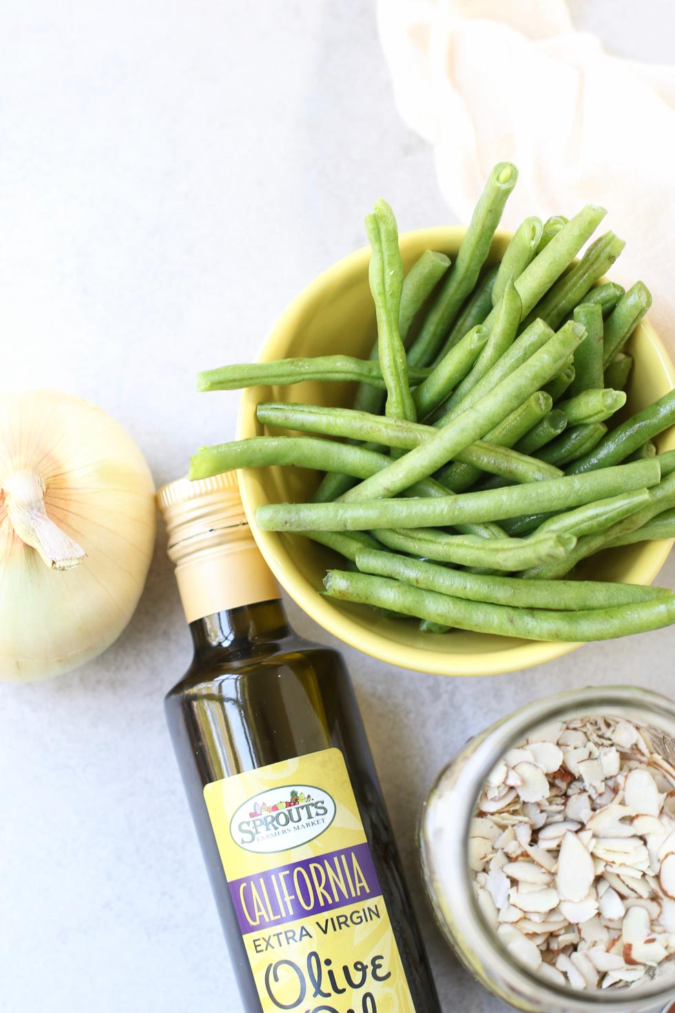 Caramelized Green Beans made with Extra Virgin Olive Oil