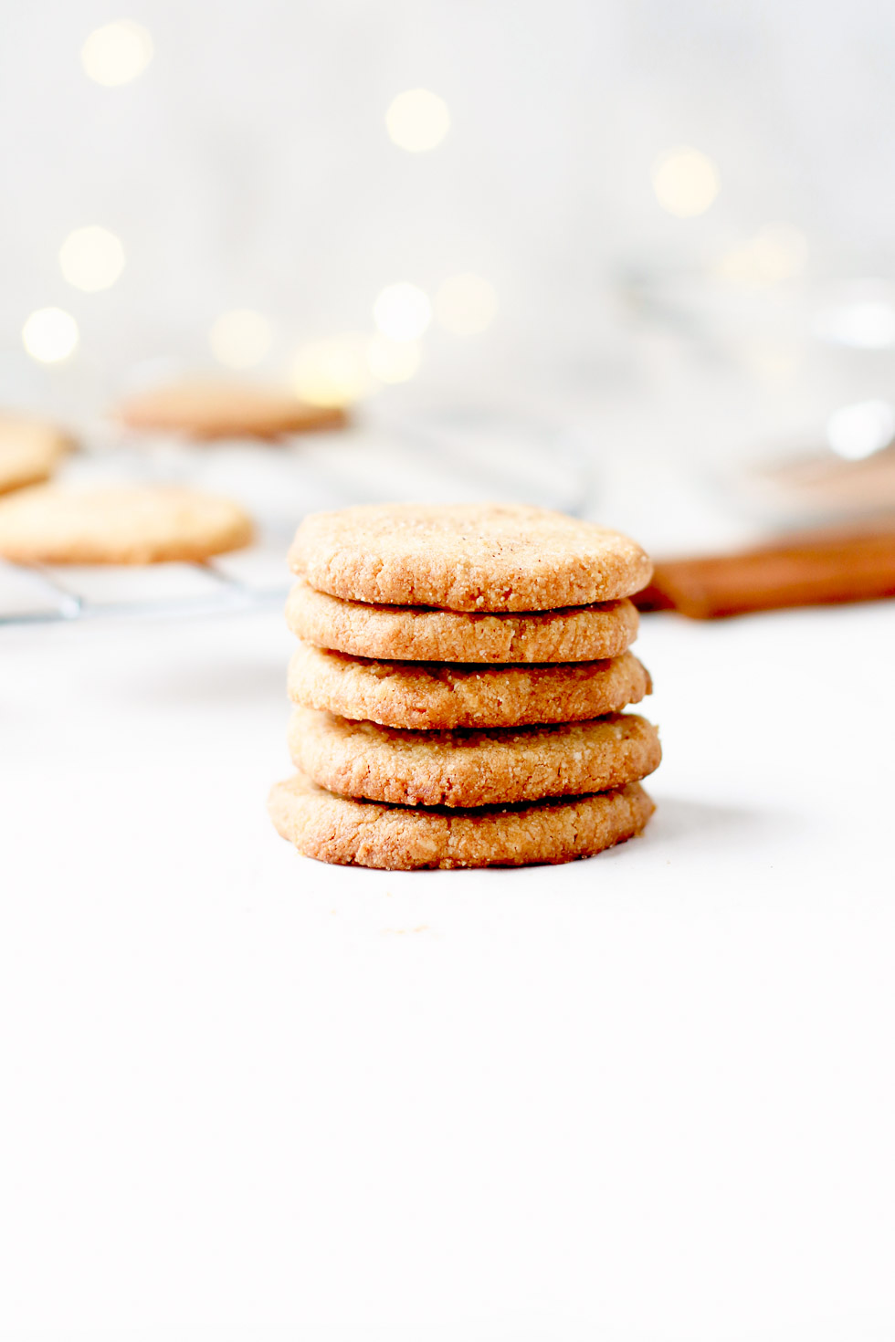 Gluten-Free Brown Sugar Shortbread Cookies