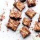 Flourless Tahini Swirl Brownie Bites