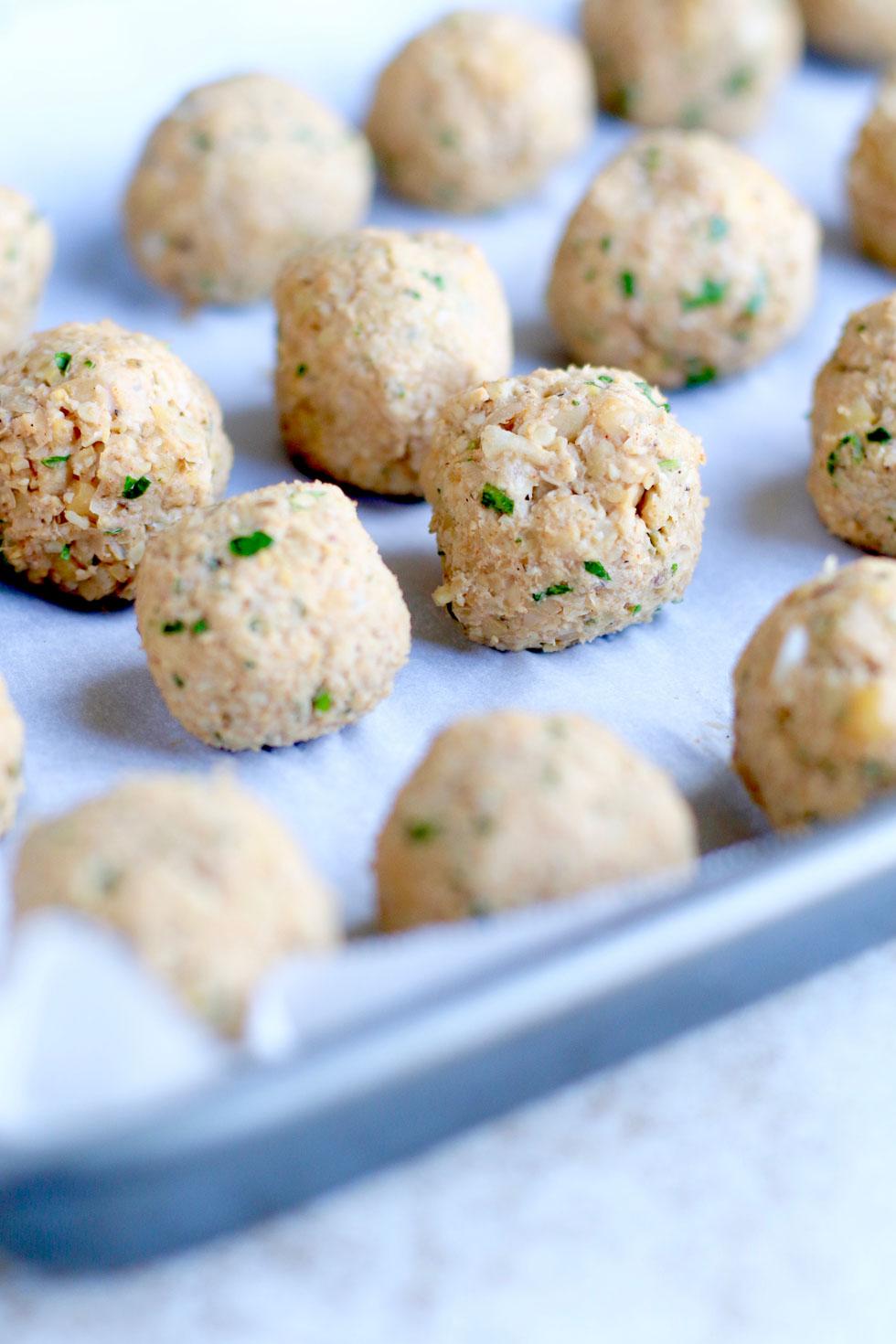 How to Make Vegetarian Meatballs