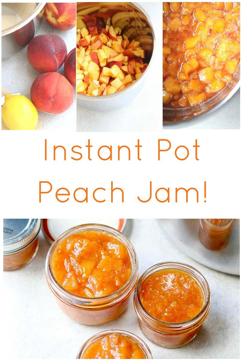 Instant Pot Peach Jam PIN