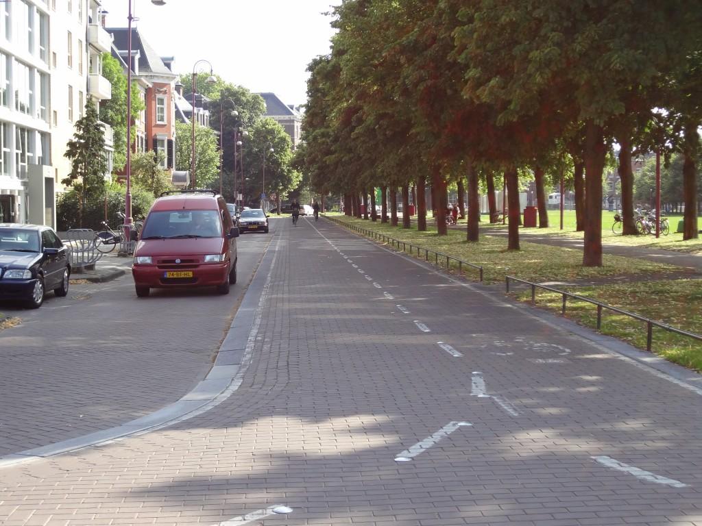 Bike Lanes in Amsterdam