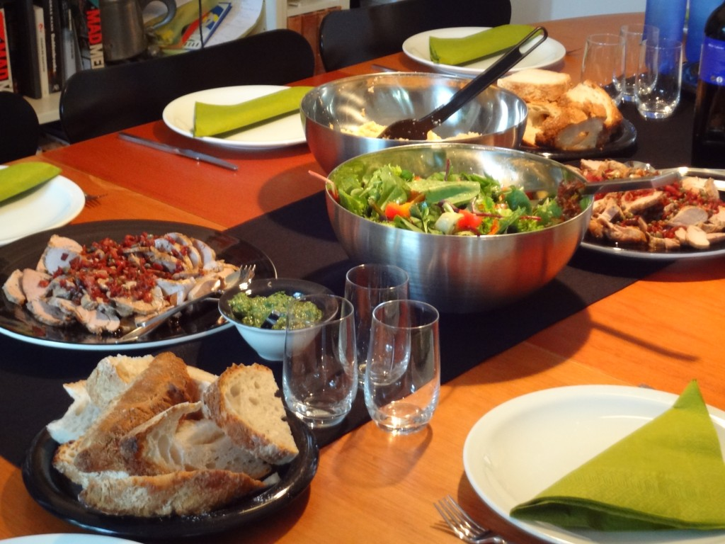 Dinner Party Spread