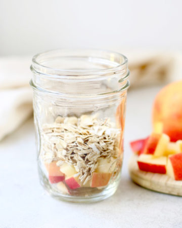 Apple Pecan Overnight Oats Recipe