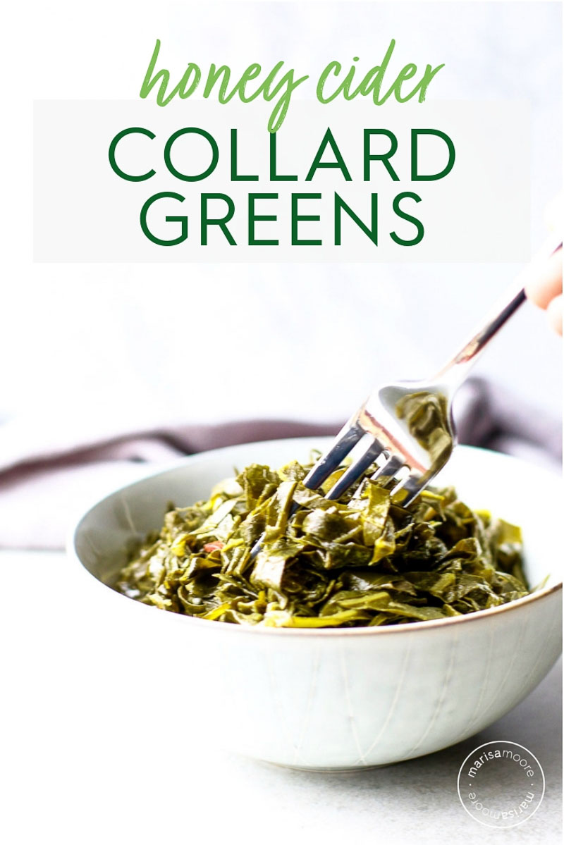 honey cider greens PIN