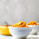 Sweet Potato Pudding in two bowls
