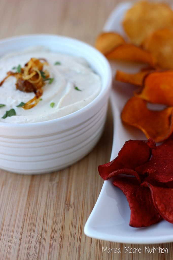 Caramelized Onion Dip MM marisamoore.com