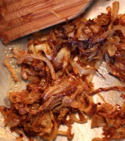 Caramelized onions on marisamoore.com
