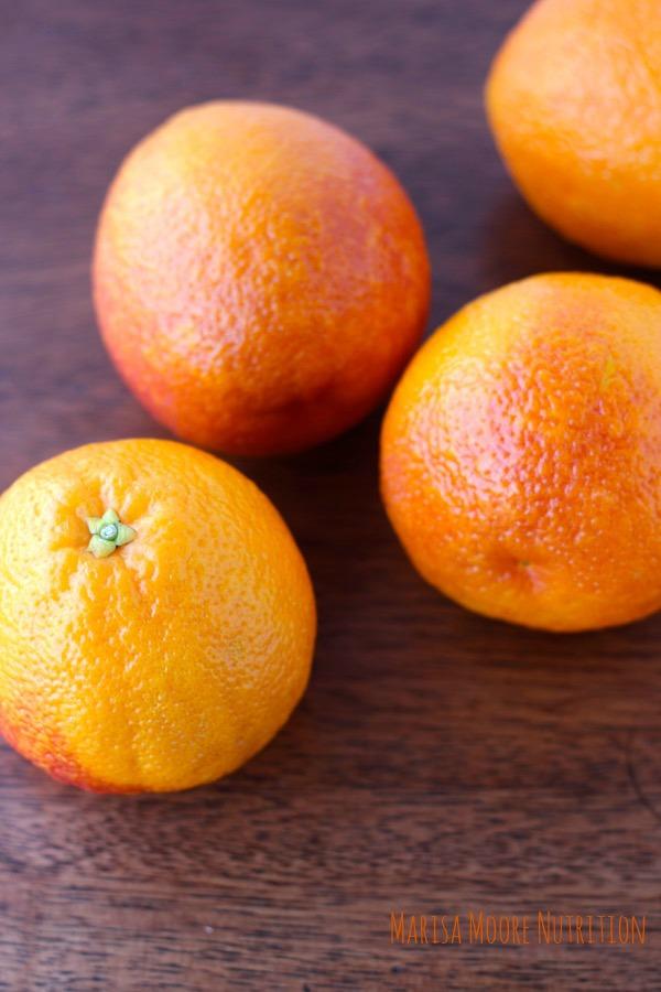 Blood Oranges whole on marisamoore.com