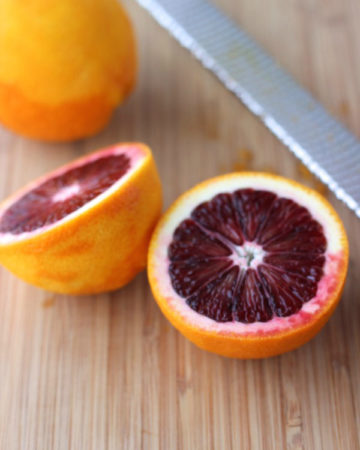 Cut Blood Oranges on marisamoore.com