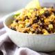 Ancho Black Bean Quinoa in a bowl