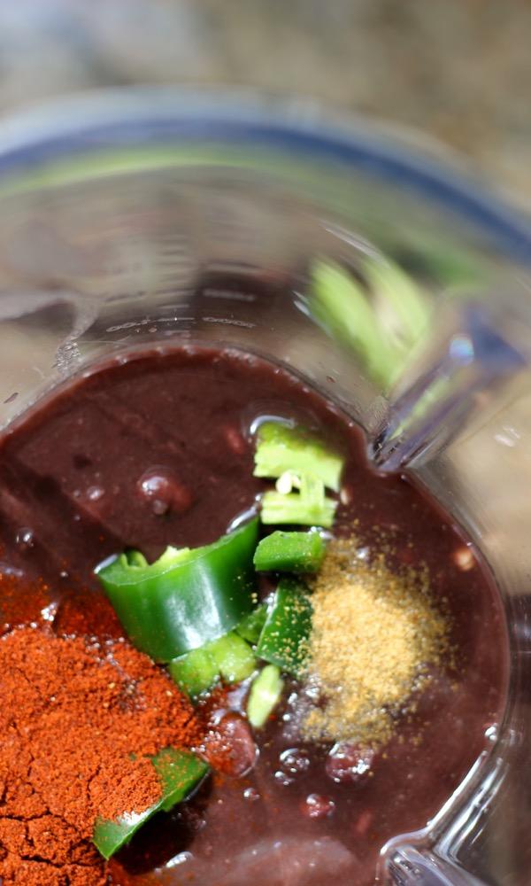 Black Bean Soup to Puree on marisamoore.com