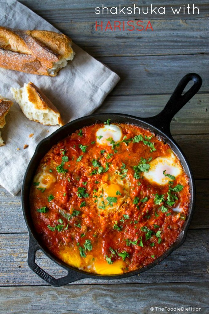 Shakshuka with Harissa from Kara Lydon