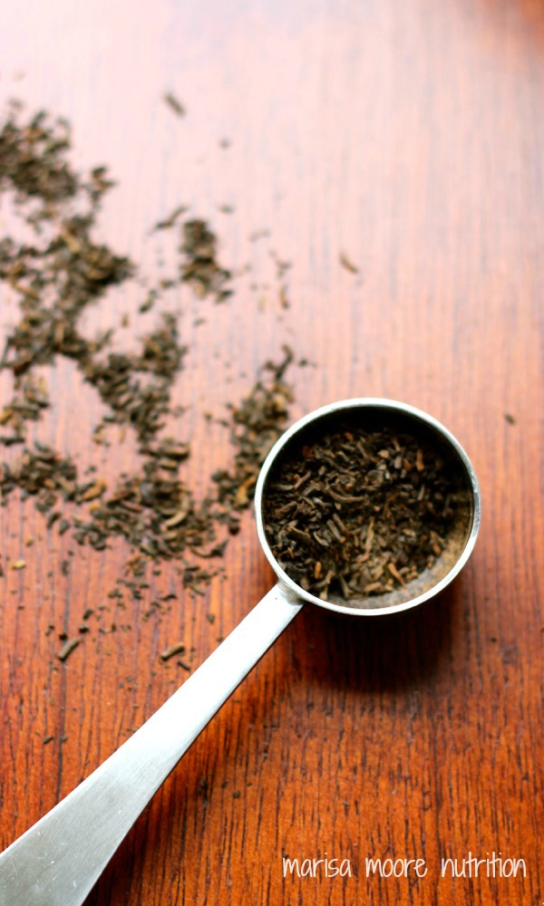 Loose pu-erh tea on marisamoore.com