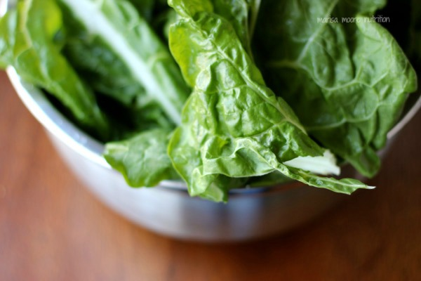 Fresh Chard on marisamoore.com