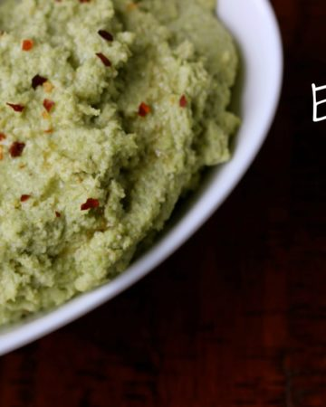 Sesame Edamame Hummus on marisamoore.com