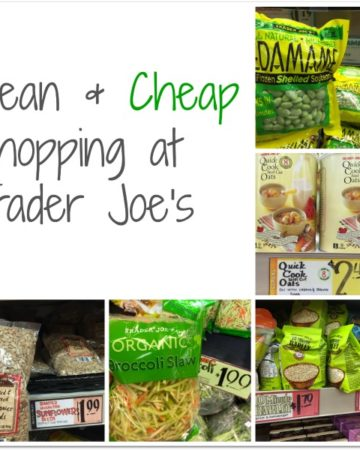 Clean Eating at Trader Joe's