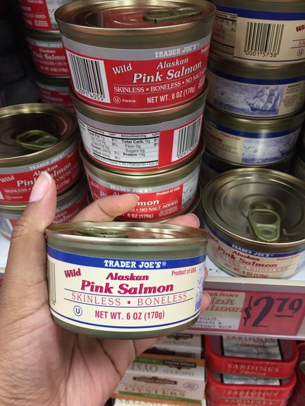 Trader Joe's Skinless Salmon