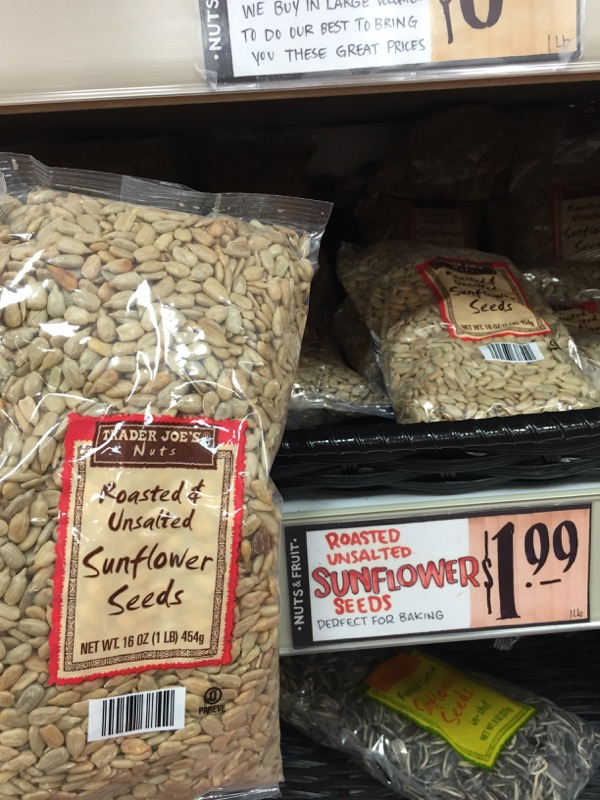Trader Joe's Sunflower Seeds