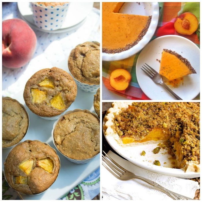 Peach Muffins and Pies