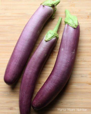 Whole Japanese Eggplant on marisamoore.com
