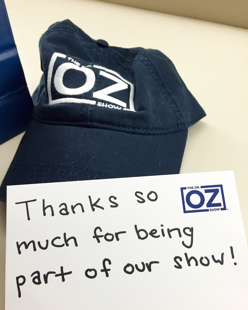Marisa Moore on Dr. Oz Show