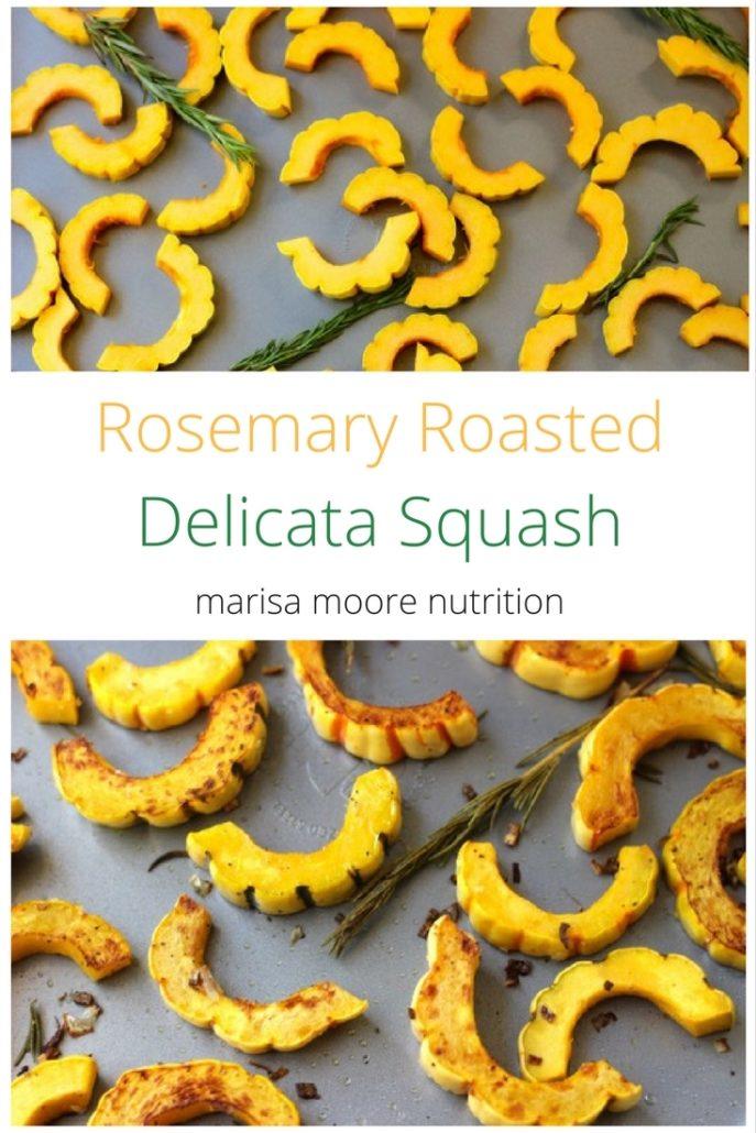 Rosemary Roasted Delicata Squash