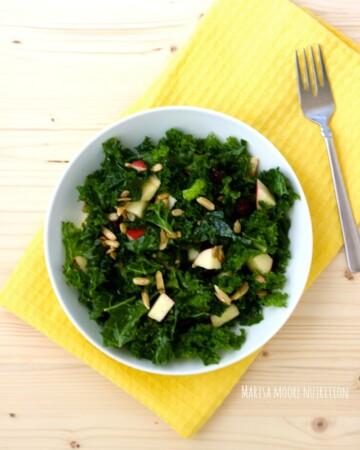 Tuscan Kale & Apple Salad Natural Pregnancy Cookbook