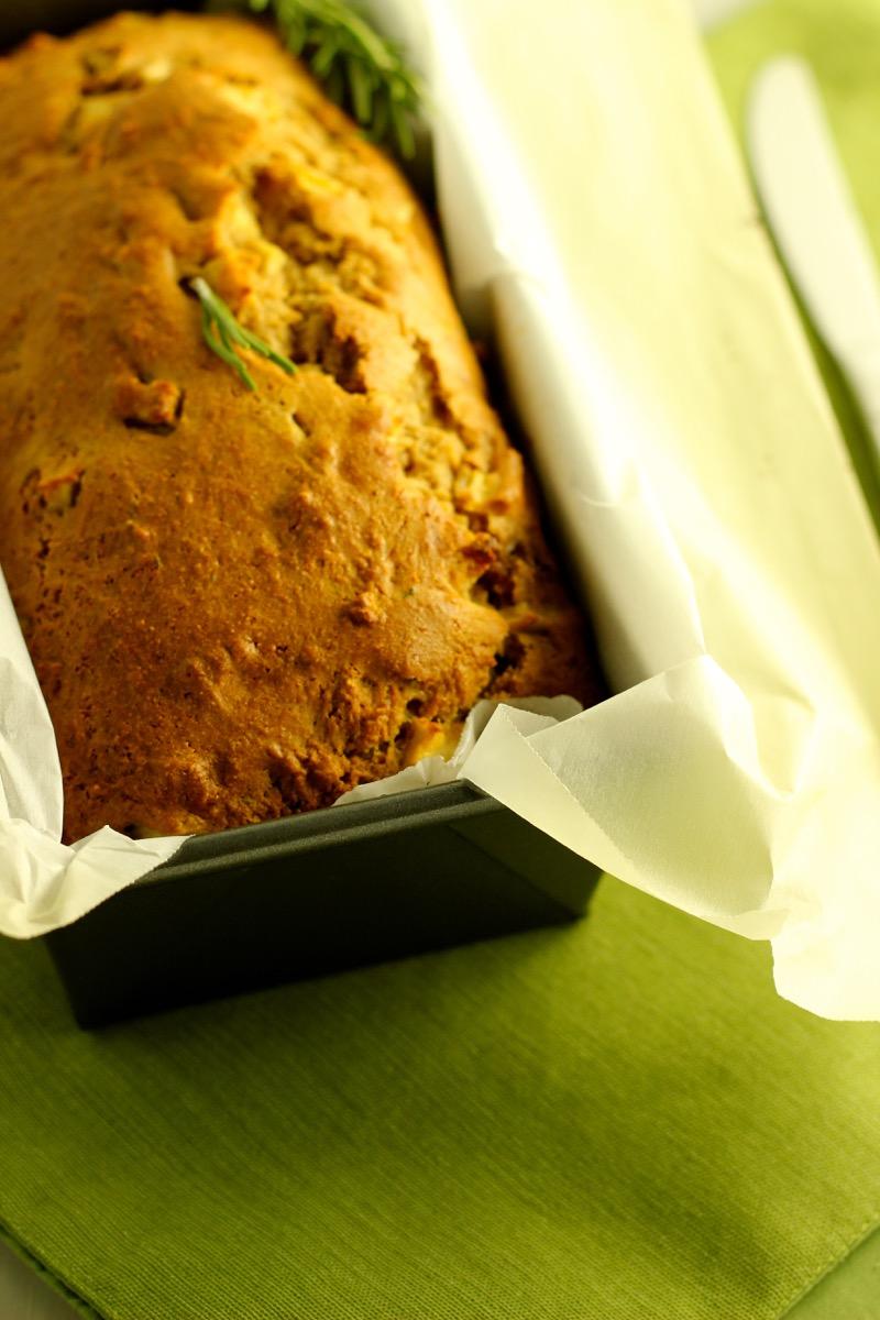 Apple Rosemary Quick Bread