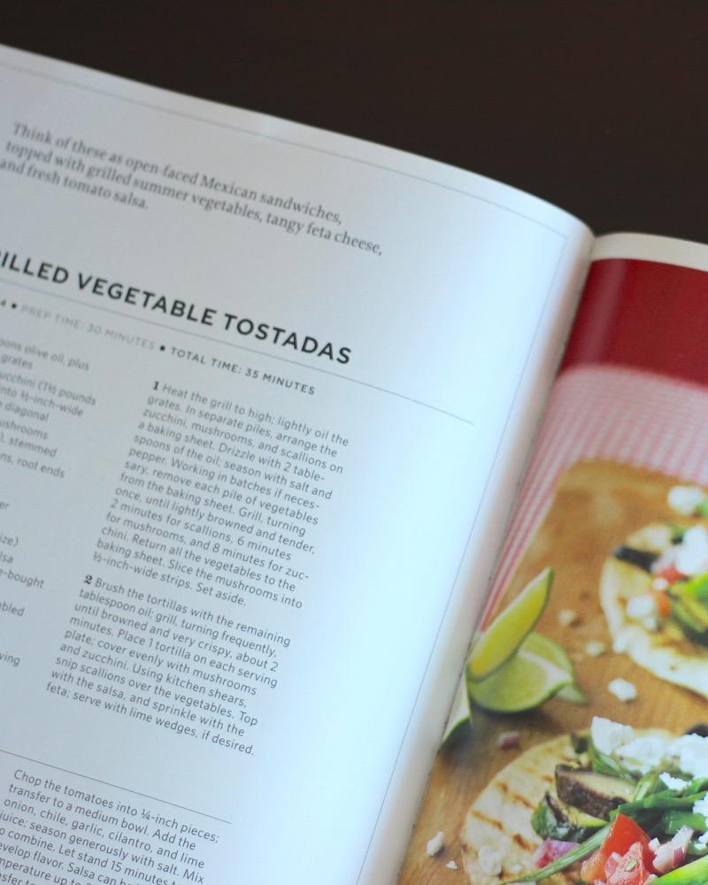 Grilled Vegetable Tostada